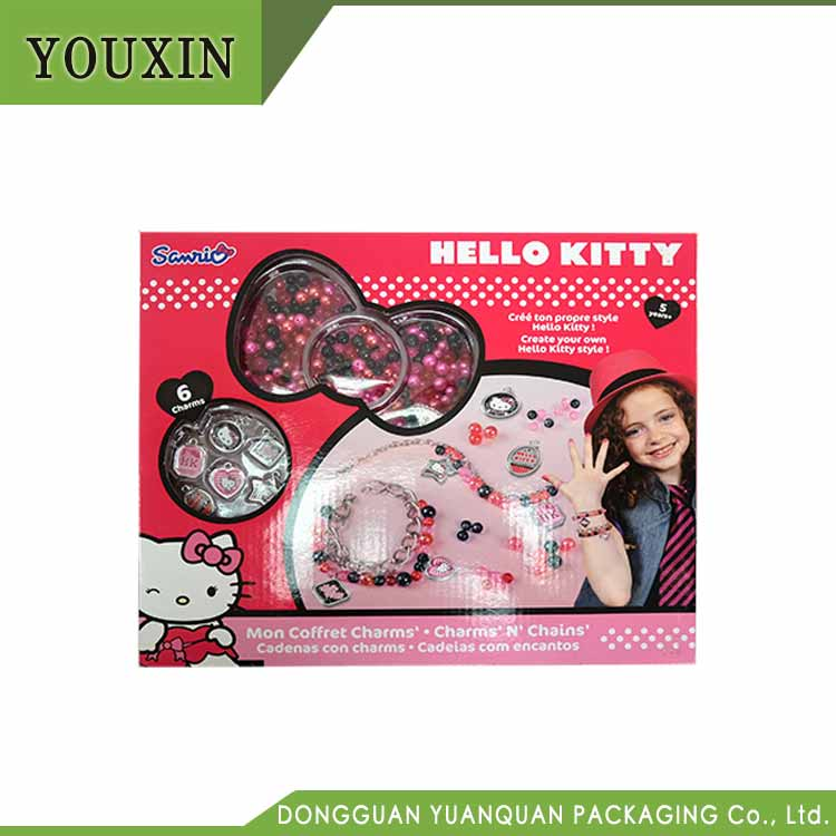 Hello Kitty Printed Paper Gift Box for Baby Toys Packaging