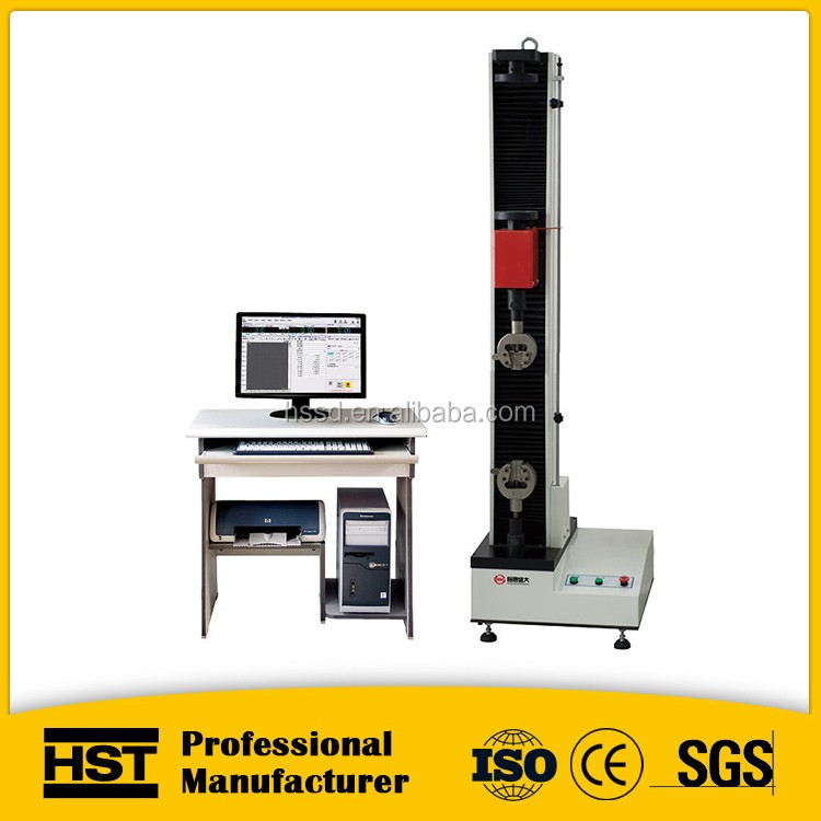 ASTM 638 Material static tensile and bend universal electronic tensile testing machine