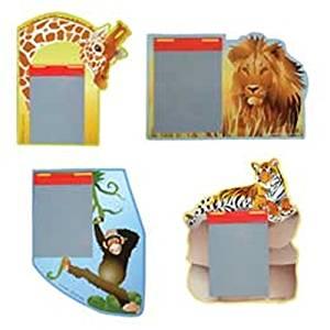 "Dozen Assorted Wild Safari Animal Magic Slate Pads 5"" x 7"""