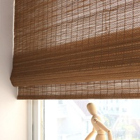 Supplier bambu bamboo roller roman shade