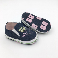 Spring new fashion design good modern hot selling with cute print out sole non slip baby shoes 2018 for girl boy