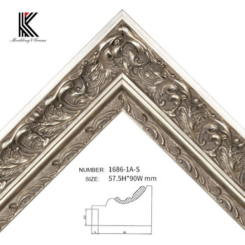 Gallery Silver Foil Carved Wood Art Frame Moulding For Deco Frame Oil Painting Frame Buy Wooden Picture Frame Mouldingcanvas Frame Mouldinggesso