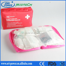 DIN13164 Germany CE FDA approved oem promotional wholesale auto first aid kit for sports