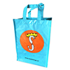recycled plastic bottle tote bag glossy pp woven shopping bag customized tote bags