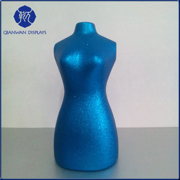 Hot sale new style no head half body wholesale mannequin dress jewelry stands