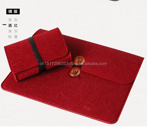 For Apple Mac MacBook Air Pro 11/12/13/10 Wool Felt Laptop Case Cover Bag Pro Air Retina