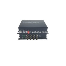Ho-Link 8-Ch HDCVI/TVI/AHD Faser zu Optic Video Sender Empfänger/720 P 1080 P HDTVI Fiber video converter