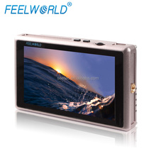 Professional Camcorder DSLR Flexible Battery Plate F970 D28S E6 5.5 inch Full HD 3G-SDI Display HDMI Monitor with USB Port