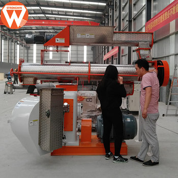 Cost-Effective poultry animal broiler chicken feed making machine to manufacture pellet machine
