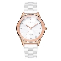 Top Brand 8631 Quartz White Ceramic Lovers Watches Luxury Casual Unique Ladies Dress Wristwatch Relogio Feminino Couple Watch