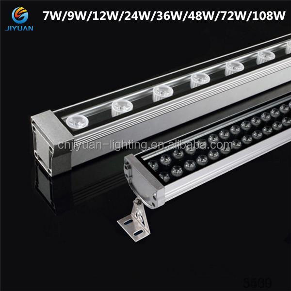 36W Linear Wall Washing Light dmx wall washer light SMD5050 led wall washer light with lens CE ROHS IP66 Approvad led lighting
