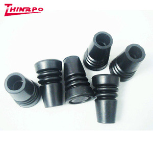 Walking Stick Rubber Feet / Custom EPDM cover cap For Various Purpose / First Grade Rubber End Cap for walking stick