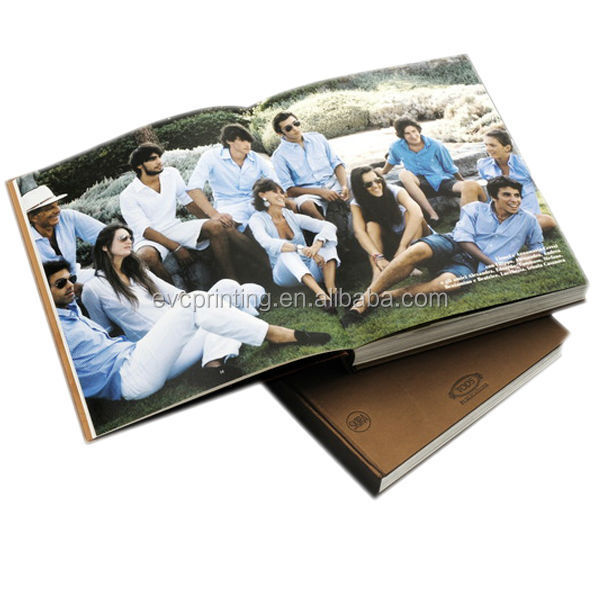 High quality photographic book printing