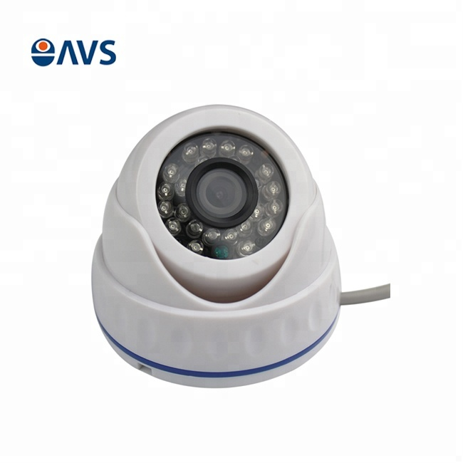 4-in-1 AHD 720P Plastic Case Surveillance IR Dome Camera for Indoor