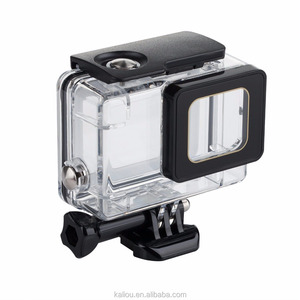 Factory sale New Arrival Hot selling 45M Protective Anti dust Waterproof Case Diving Housing Case Cover for GoPro hero 5