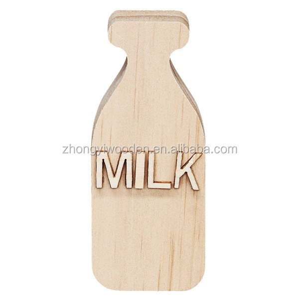 Popular gift decoration customized laser wooden art craft