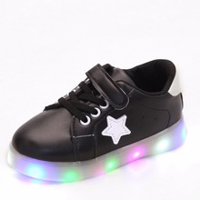Hot Sale Children Casual Sneaker LED Flashing Lights Shoe