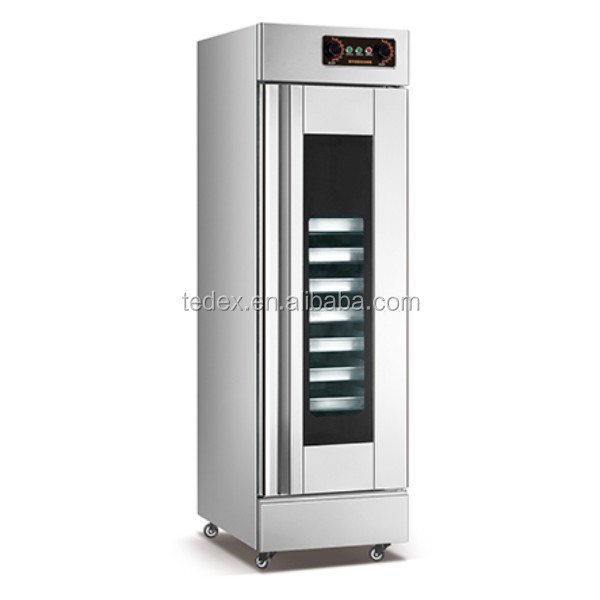 Single or Double Door Bread Fermentation/Dough Proofer/ Bakery Equipment Commercial Electric Proffer