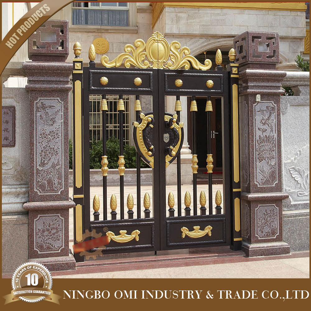 Superhouse integrity door aluminum gate designsteel construction building material iron house main gate designs