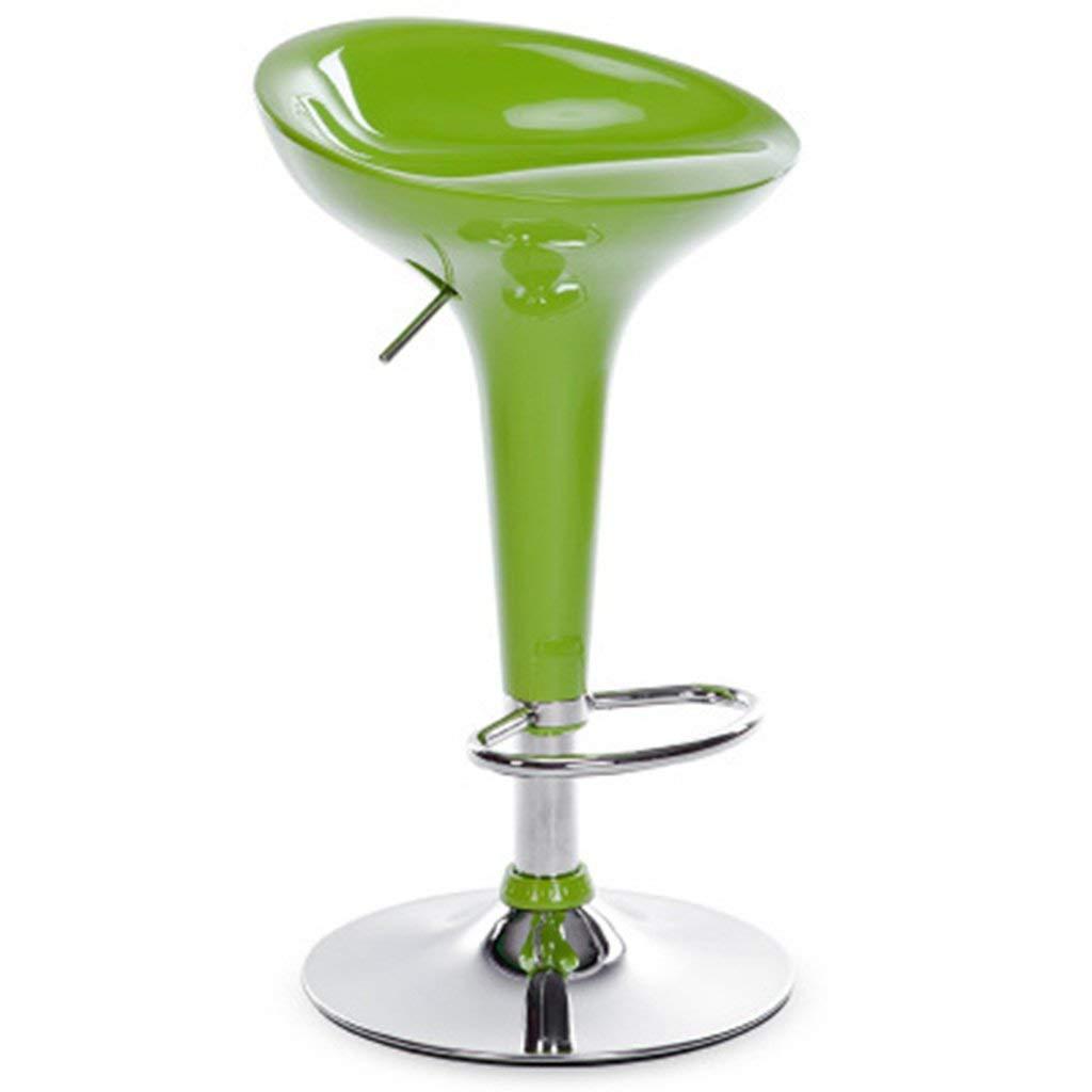 Cqq Bar Chair Bar Chair European Style Lift high Stool Modern Simple Bar Stool Bar Chair Home high Bar Chair (Color : White, Size : 4168-88cm)