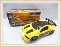 Plastic all-direction musical lighting battery operated toy race car children toy electric car