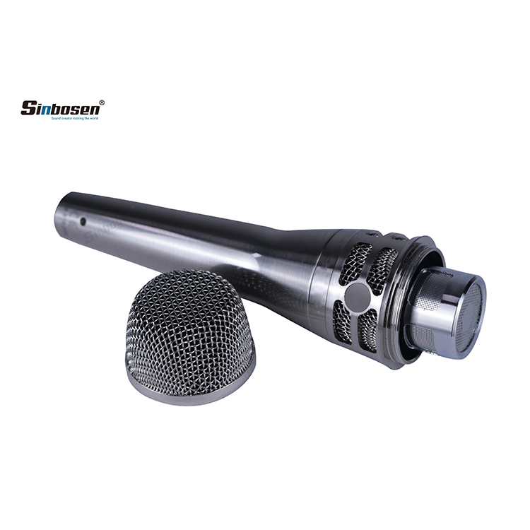 Sinbosen KM8 Heart-shaped dynamic handheld wired microphone for professional stage performance home ktv recording