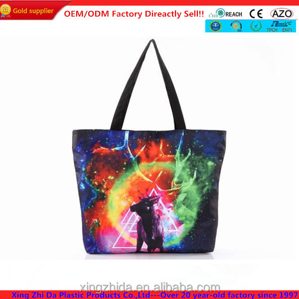Dacron shopping bags