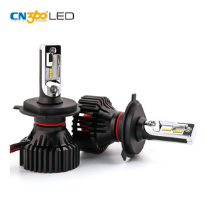 New auto parts plug and play 12v car lamp led headlight h4
