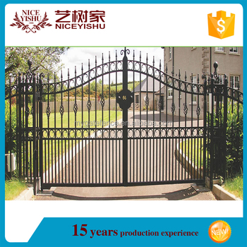2016 Latest Main Gate Designs/philippines Gates And Fences/iron ...