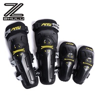 TNAC custom Four-piece set Motorcycle Protector Elbow and Knee Pads