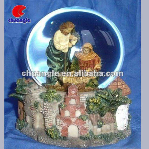 Resin Water Globes, Snow Globe Supplies, Jesus Snow Globes