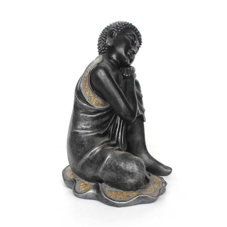 2017 customized polyresin sleeping buddha statua in vendita