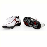 Fashionable Rubber Men Golf Shoes with fixed shoe pin