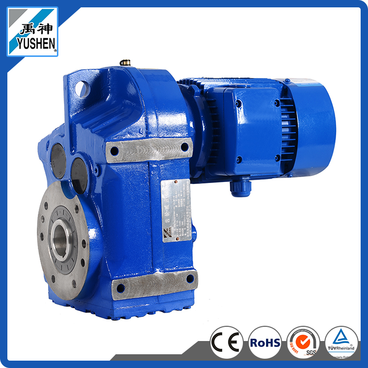 2.2kW F47/F57/F67 Ratio 25.72/44.73/61.07 price helical gear