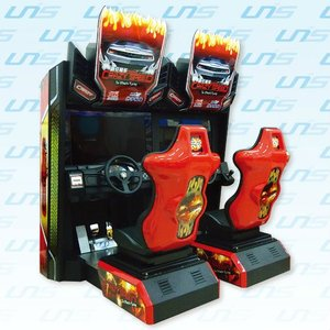 Crazy Speed Twin Amusement racing Game and Arcade Machine