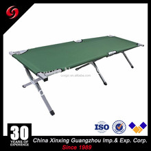 Military Army Battle field Cot bed Folding bed with carry bag for sale