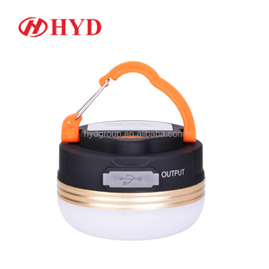 HYD80711 wholesale mini LED rechargeable USB camping light lights lamps lanterns LED camping tent light hanging camping lantern