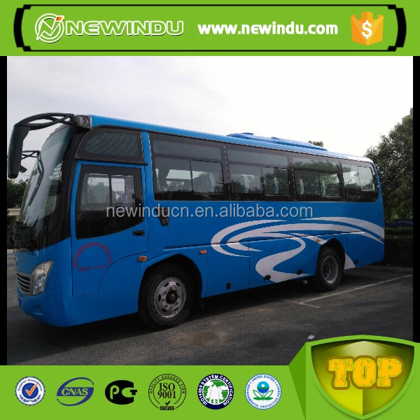 21 Seats and Manual Transmission Type city bus in Africa market