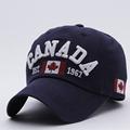 New Arrivals Cotton Gorras Canada Cap Flag Of Canada Hat Snapback Adjuatable Mens Baseball Caps Brand