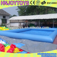 HNJOYTOYS Cartoon Inflatable Hamster Ball Pool for Kids