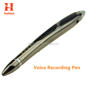 Huiton Brand good quality 16gb Digital voice recording pen with MP3 play 150hours recording time