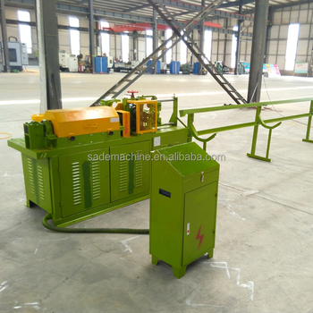 Steel Bar Straightener & Cutter Machine/ Wire Rod Straightening And Cutting  Machine - Buy Steel Bar Straightener And Cutter Machine,Wire Straightening