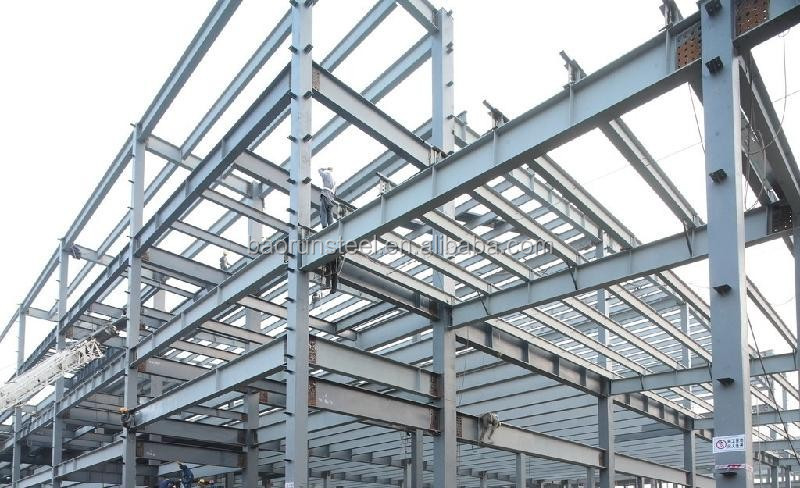 d446a6763069 High Rise prefabricated Steel Structure building for residential houses