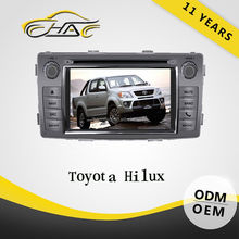 car radio gps navigator car dvd player for toyota hilux Small Order Accept
