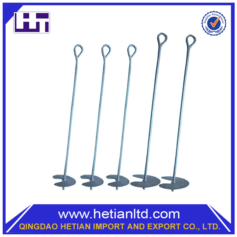 High Quality Safe Custom Manufacture Earth Screw Heavy Duty Ground Anchor