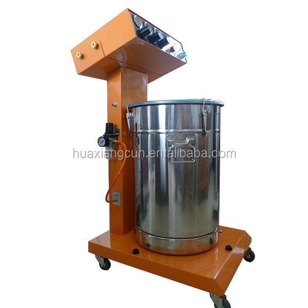 धातु प्रसंस्करण के साथ पाउडर कोटिंग मशीन