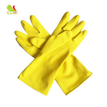 Cleanroom latex plastic hand gloves for cleaning dish washing
