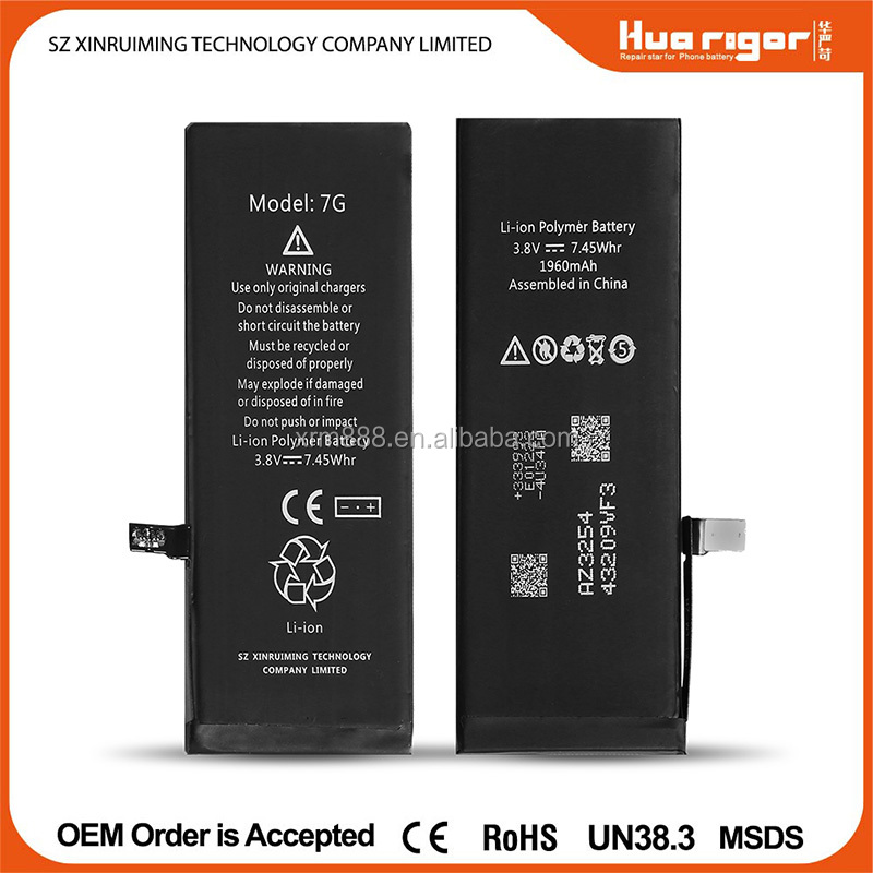shenzhen phone battery high capacity factory wholesale lithium ion battery for iphone