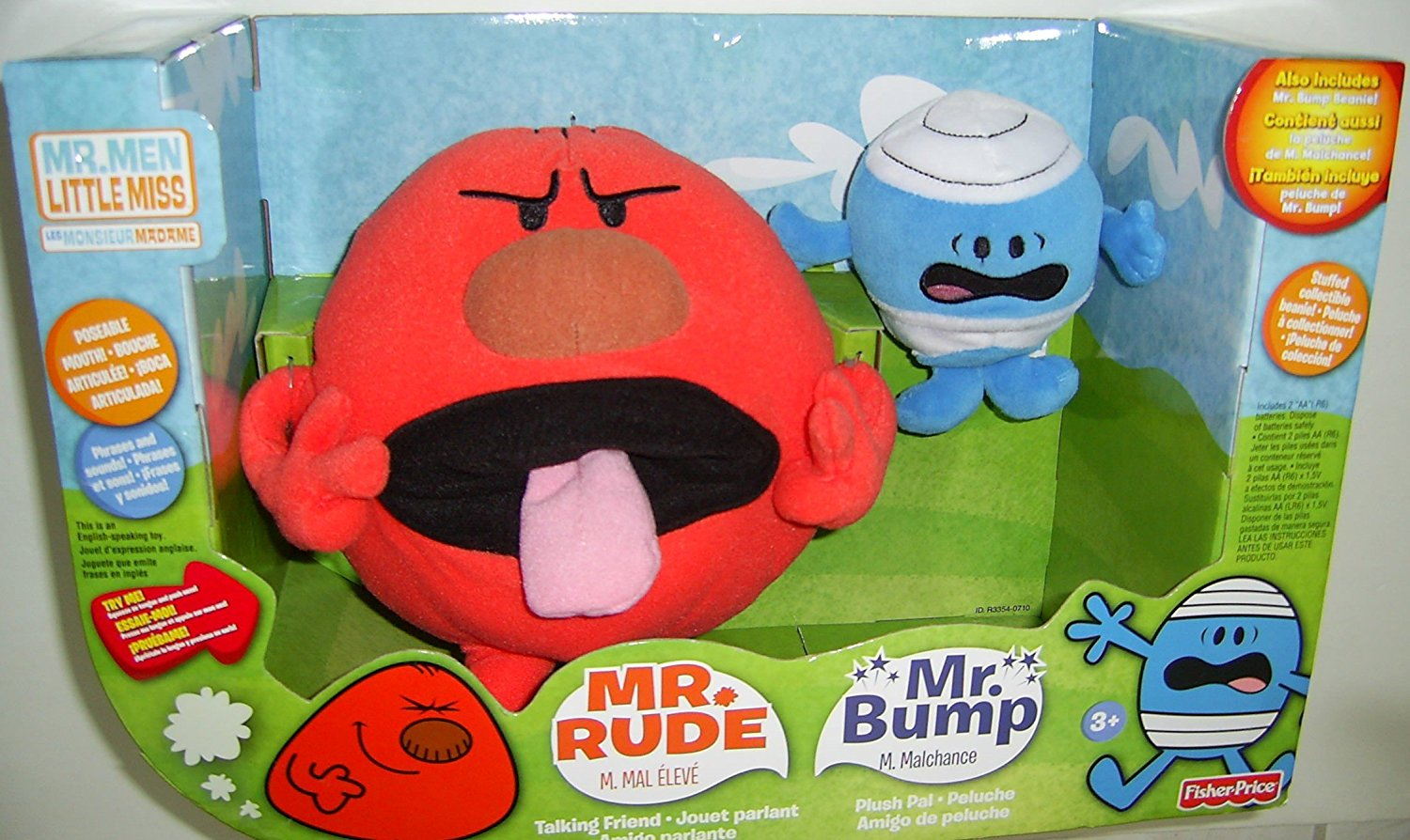 Get Quotations Fisher Price Mr Men Rude And P Gift Set