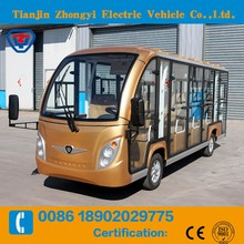 14 seats Electric Sightseeing Bus with great price